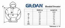 Gildan Unisex Size Chart Gildan Size Chart The Odyssey Bookshop