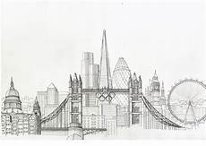 City Building Sketches New York City Skyline Drawing Sketches Pinterest