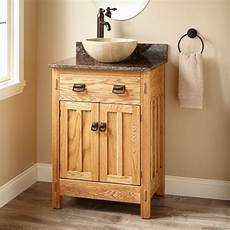 24 quot narrow depth mission hardwood vessel sink vanity
