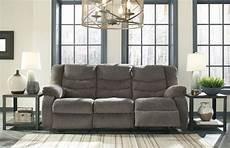 Signature Design By Tulen Gray Reclining Sofa And Loveseat Tulen Gray Reclining Sofa Furniture Sofas