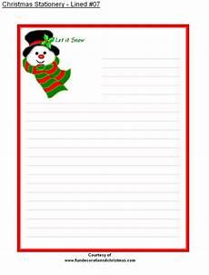 Free Printable Christmas Stationery Free Printable Lined Christmas Stationery Christmas