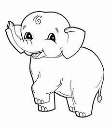 kinder malvorlagen elefant kinder ausmalbilder