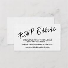 Online Rsvp Cards Create Your Own Enclosure Card Zazzle Com Rsvp Wedding