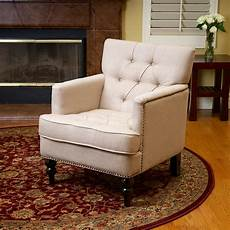 upholstered accent chairs with arms design tufted fabric upholstered arm chair w