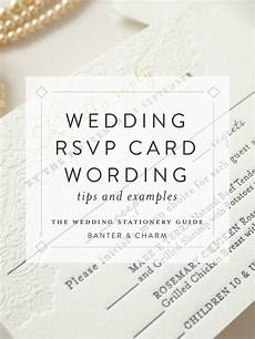 Rsvp Cards Examples Wedding Stationery Guide Rsvp Card Wording Samples