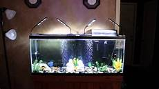 3 Foot Fish Tank Light 3 Mode 48 Led Aquarium Ebay Fish Tank Light Kit Youtube