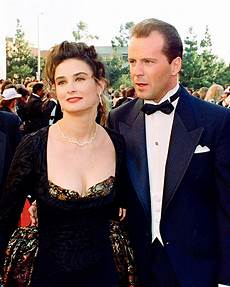 demi moore s romantic history photos of her past