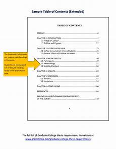 Table Of Contents Word Template 20 Table Of Contents Templates And Examples ᐅ Templatelab