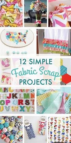 12 simple scrap fabric projects on the day