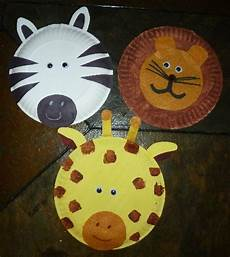 family paper plate animals to do with your