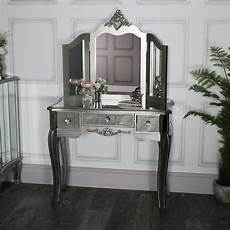 mirrored dressing table and mirror range