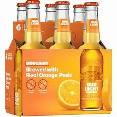6 Oz Bud Light Bud Light 174 Orange 6 Pack 12 Fl Oz Bottles