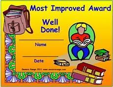 Most Improved Award Most Improved Award Seomra Ranga