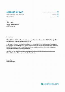 How To Do A Resignation Letter 5 Letter Of Resignation Templates Download Now