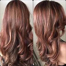 Red To Light Brown Hair Red Highlights In 2020 With Red Highlights