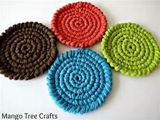 free crochet coasters pattern