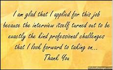 Thank You Card For Job Interview Thank You Messages For Job Interview Thank You Notes