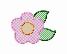Applique Designer Applique Flower Machine Embroidery Design 3 Sizes