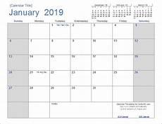 Vertex42 Calendar I Just Got A Great Free 2019 Calendar Light Theme For