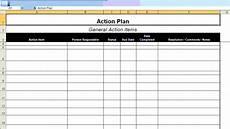 Action Plans Templates Excel Mps Implementation Action Plan 171 Managed Print Guru