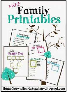 Printable Family Tree For Kids Free Family Tree Printables And Ideas