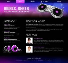 Music Html5 Template Free Html5 Css3 Template Music