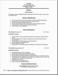 Help With Resume Wording Help Desk Support Resume Occupational Examples Samples