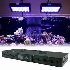 Saltwater Fish Tank Lights 24 Quot Dimmable Dusk Dawn Timer Saltwater Coral Tank Led
