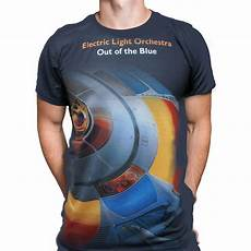 Vintage Electric Light Orchestra T Shirt Electric Light Orchestra Out Of The Blue T Shirt Pop