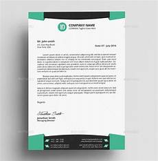 Sample Letter Head Template 30 Professional Letterhead Templates In Psd Ai Pages