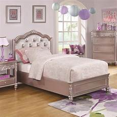 caroline size bed with tufted headboard