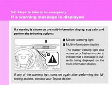 2001 Toyota Prius Ps Warning Light Toyota Prius Warning Lights Yellow Triangle Exclamation