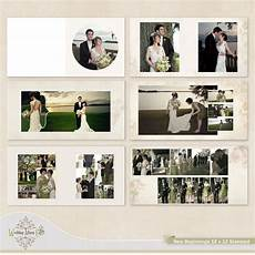 Wedding Album Design Templates New Beginnings Wedding Album Template For By