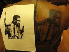 Malcolm X Designs Video Of Me Getting My Malcolm X Black Ink Youtube