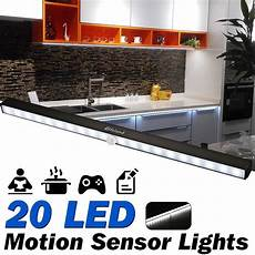wireless dimmable 20 led motion sensor lights