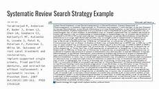 Essay Search Methods Searching Amp Systematic Reviews
