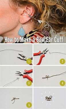How To Make Schedules 15 Diy Ear Cuffs For A Unique And Edgy Look Fashionsy Com