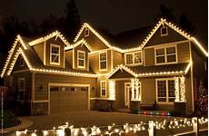 Red And White Large Christmas Lights Outdoor Christmas Lights Ideas For The Roof