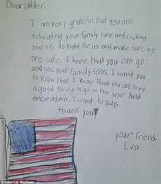 How To Write A Letter To A Soldier Savannah S Soldiers Campaign Girl Inspiring Thousands