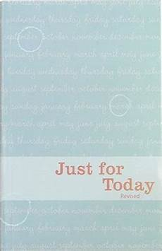 Just For Today Book Daily Meditations For Recovering Addicts