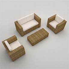 Welpatio Rattan Sofa 3d Image by Rattan Armchairs Sofa Modeled 3d Model