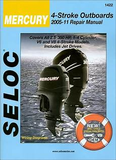 Mercury 2 5 350 Hp Outboards Repair Manual By Seloc
