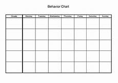 Mood Behavior Chart Behavior Chart Worksheet Therapist Aid