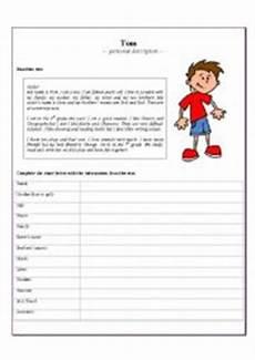 Personal Description Personal Description Esl Worksheet By Ymar