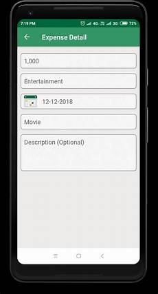 Monthly Expense Manager Daily Expense Manager Android Source Code By Vminfoway