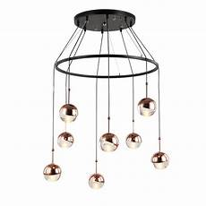 Acrylic Ball Pendant Light Clear Acrylic Ball Pendant Lights With Gold And Rose Gold