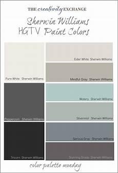 Sherwin Williams White Color Chart Readers Favorite Paint Colors Color Palette Monday