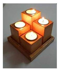 Minera Tea Light Holder Wooden Tea Light Holder At Best Price In India
