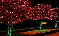 Red And White Large Christmas Lights Christmas Lights Red And Green Photograph By Leeann