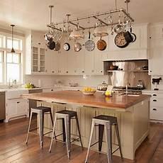 kitchen island with pot rack interior design inspiration photos by tim barber